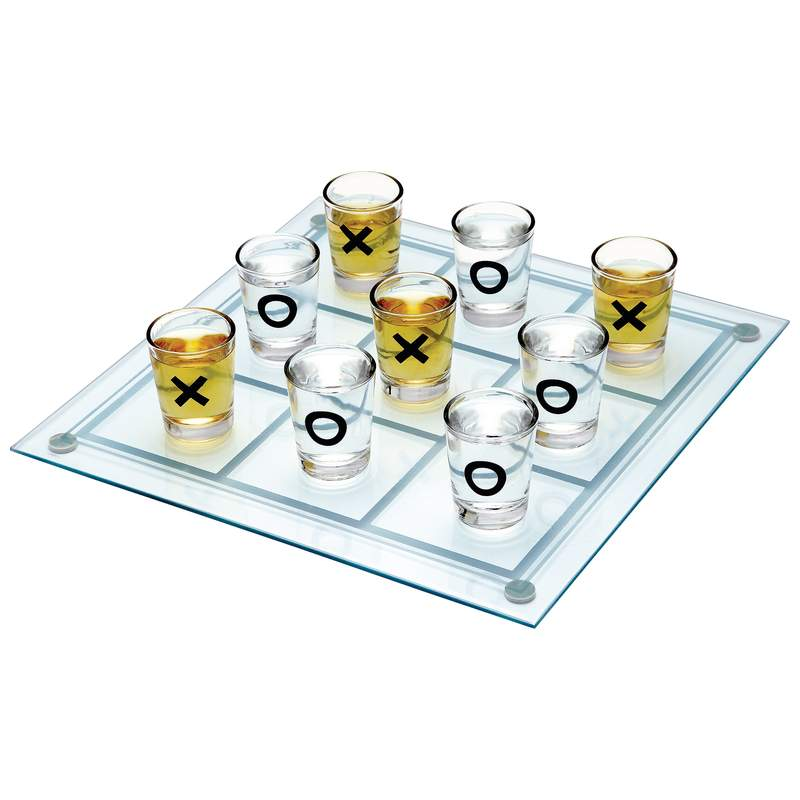 Maxam™ Shot Glass Tic-tac-toe Game - SPTTT