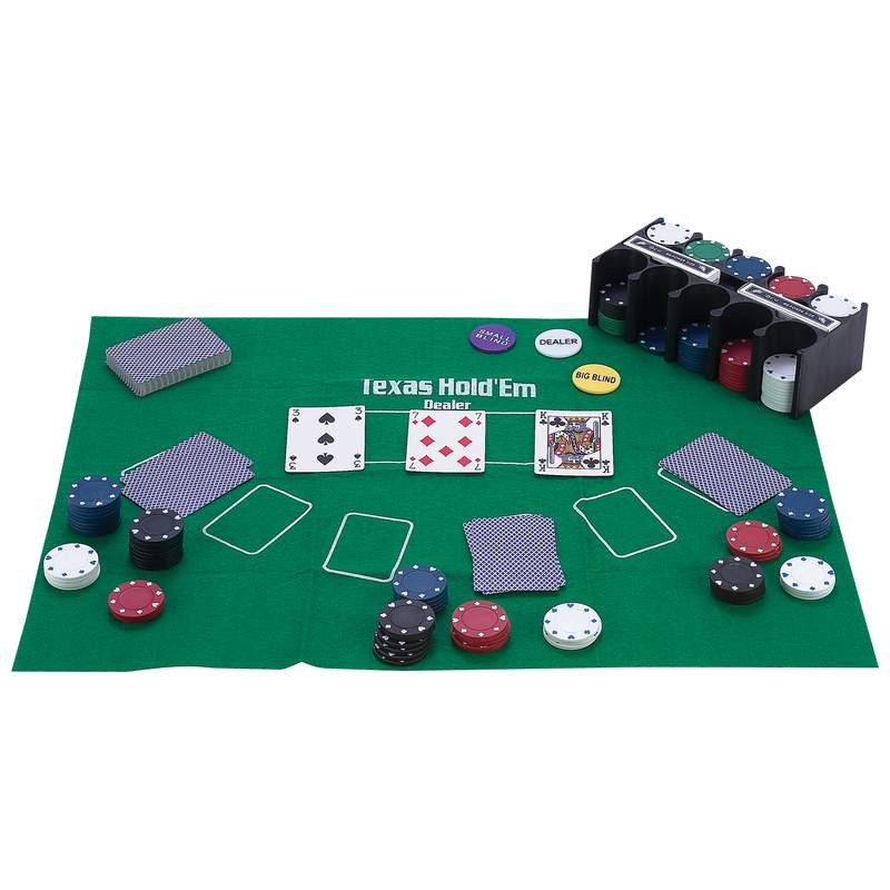 Maxam™ 208pc Casino-style Texas Hold 'em Poker Set - SPTXPOK - SPTXPOK