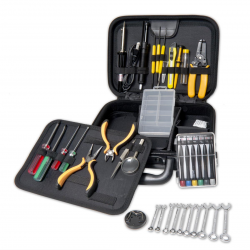 SYBA Work Station Repair Tool Kit with Roomy Case Space for More Tools, Complete Soldering Tools - SY-ACC65054