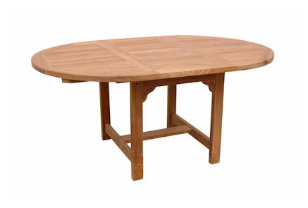 Anderson Teak Bahama 67 Inch Oval Extension Table