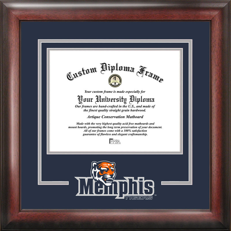University of Memphis Spirit Diploma Frame