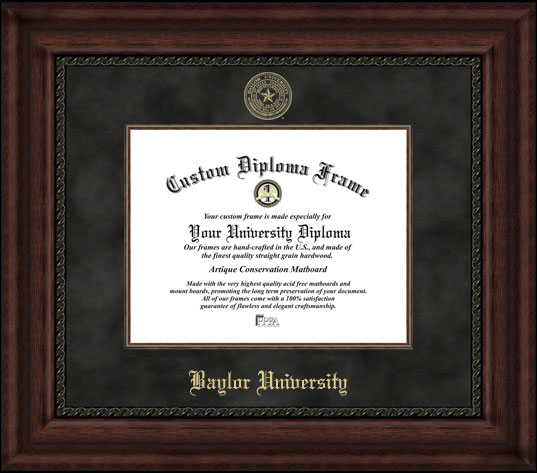 Baylor University  Executive Diploma Frame