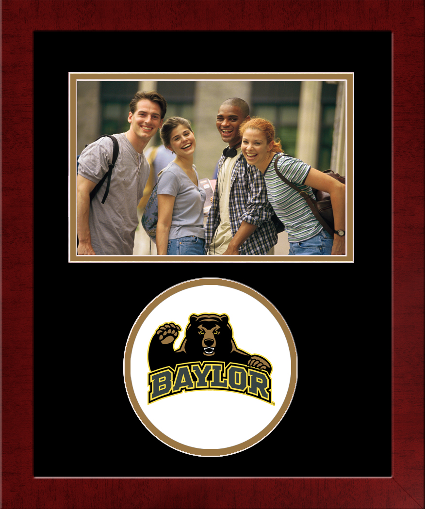Baylor University Spirit Photo Frame (Horizontal)