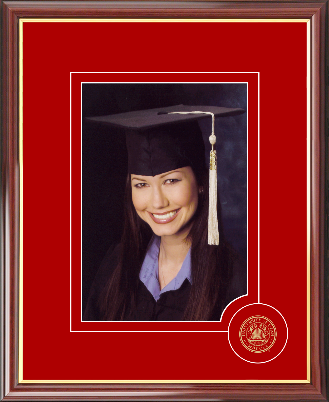 University of Utah 5X7 Graduate Portrait Frame