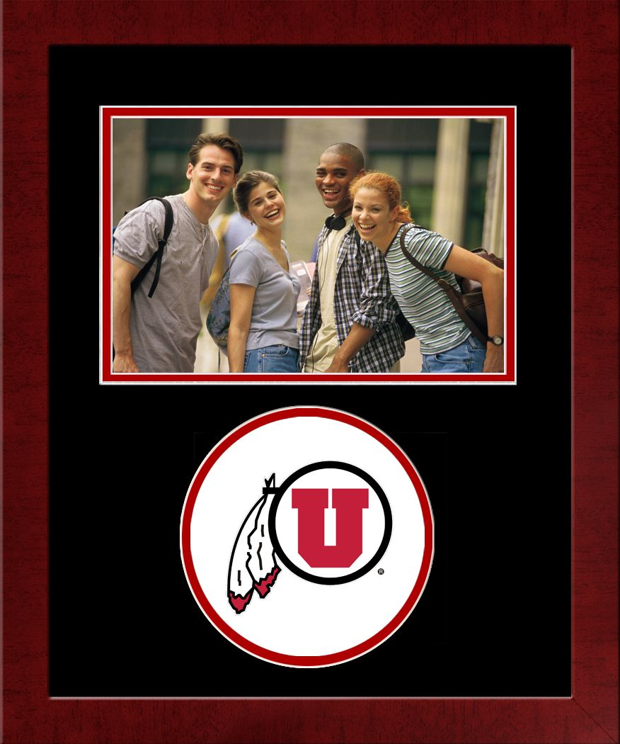 University of Utah Spirit Photo Frame (Horizontal)
