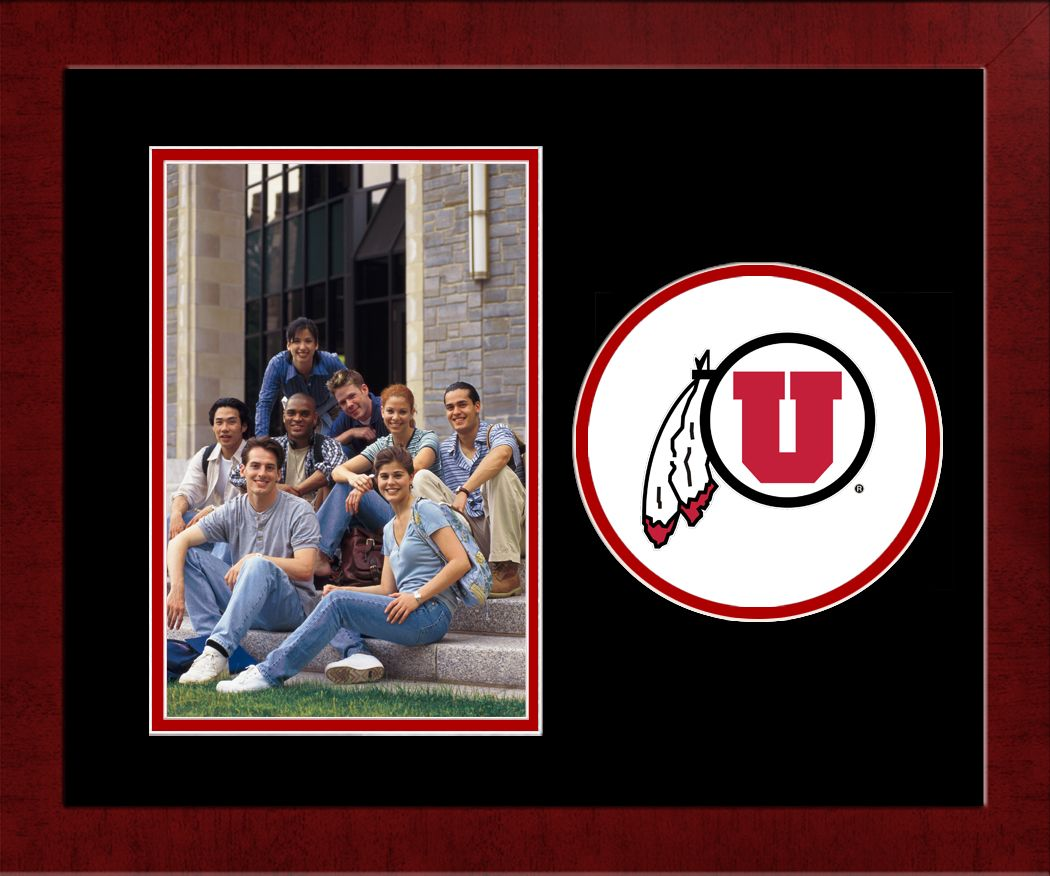 University of Utah Spirit Photo Frame (Vertical)