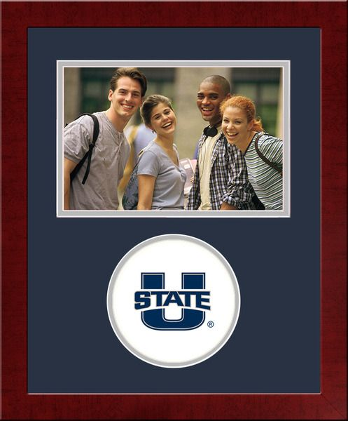 Utah State University Spirit Photo Frame (Horizontal)