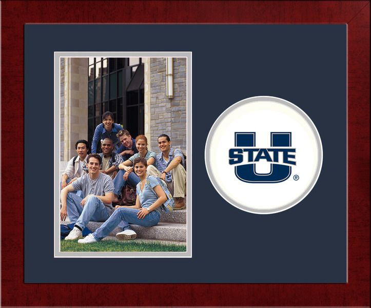 Utah State University Spirit Photo Frame (Vertical)