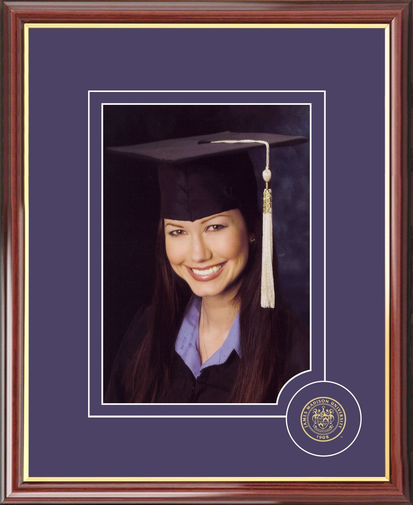 James Madison University 5X7 Graduate Portrait Frame