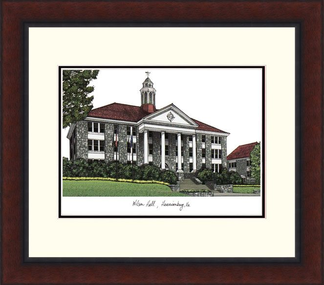 James Madison University Legacy Alumnus Framed Lithograph