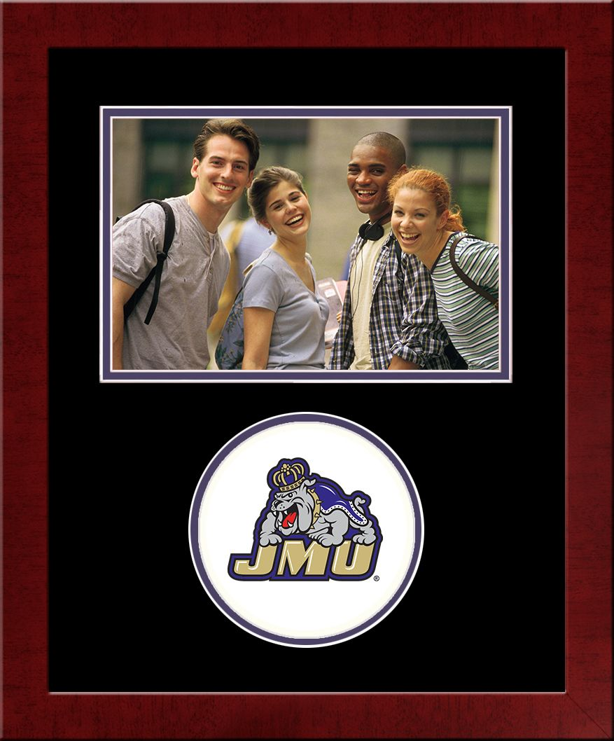 James Madison University Spirit Photo Frame (Horizontal)