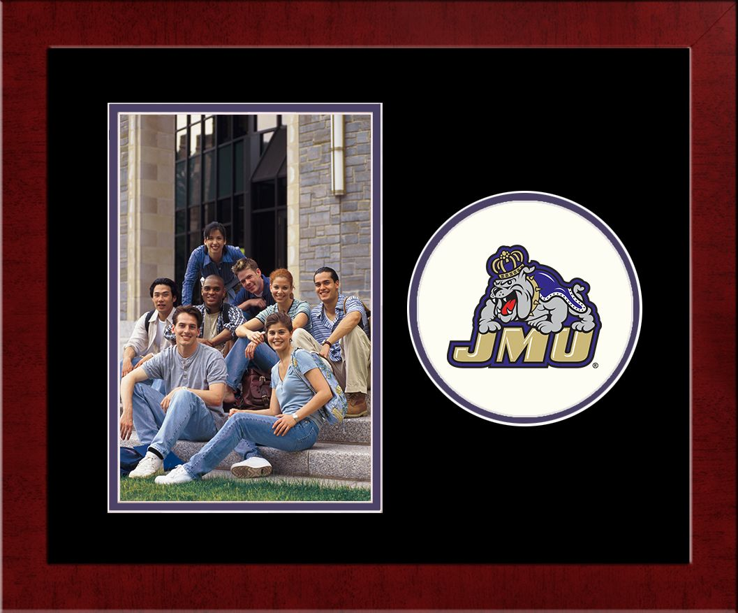 James Madison University Spirit Photo Frame (Vertical)