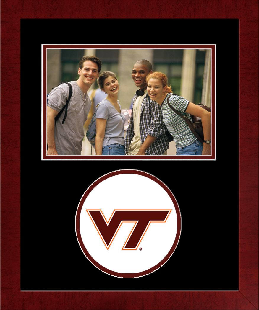 Virginia Tech Spirit Photo Frame (Horizontal)