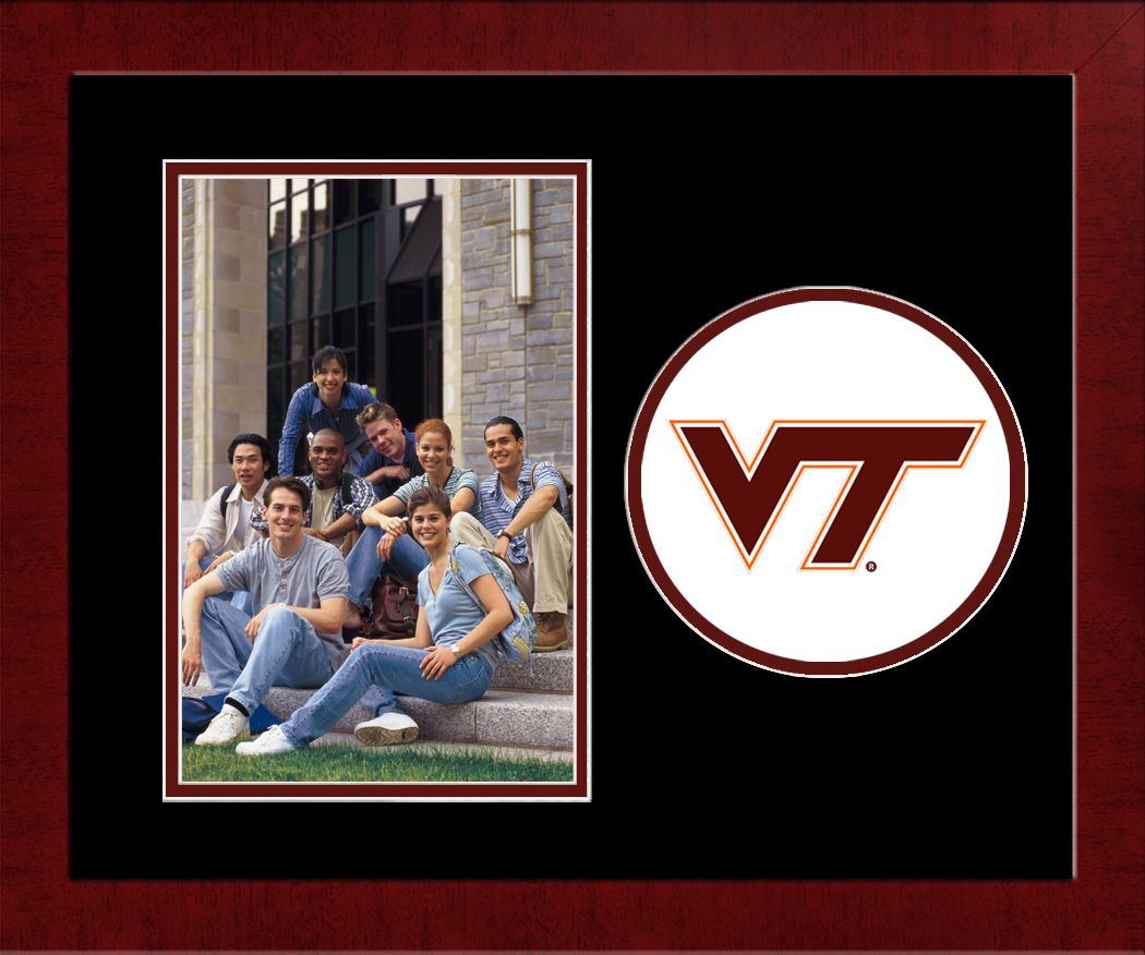 Virginia Tech Spirit Photo Frame (Vertical)