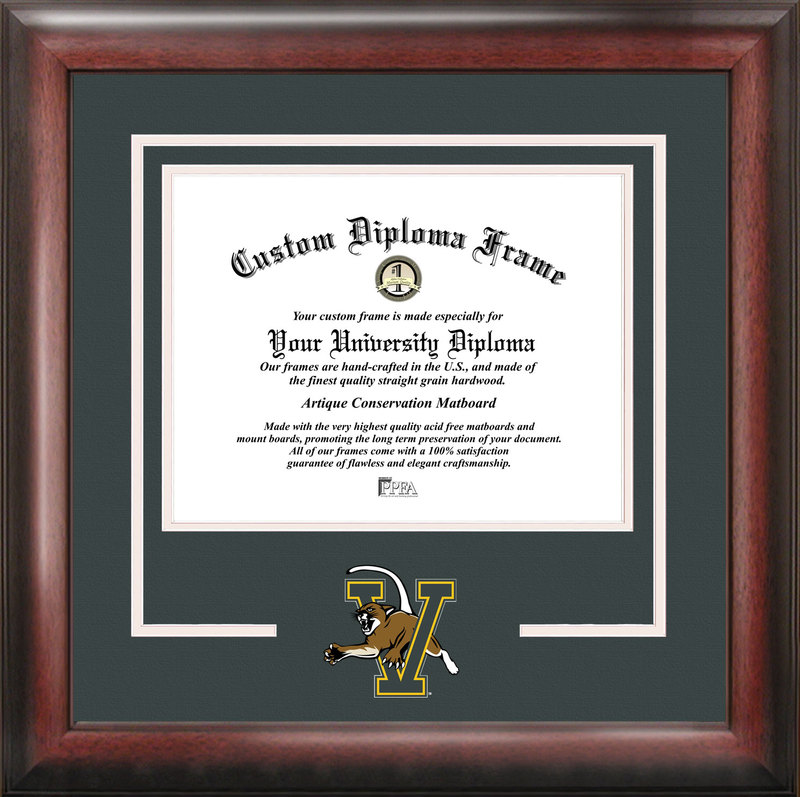 University of Vermont Spirit Diploma Frame