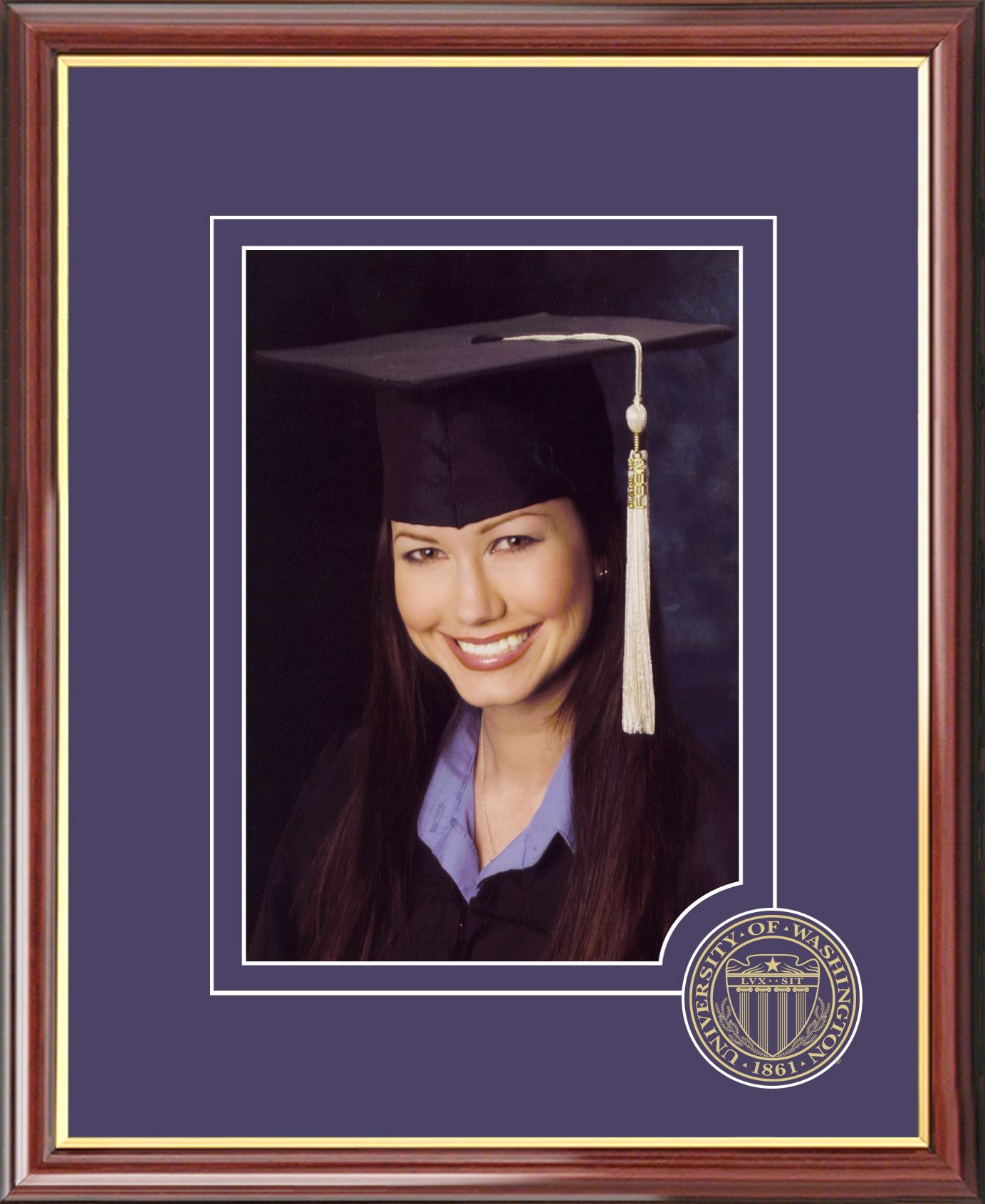 University of Washington 5X7 Graduate Portrait Frame