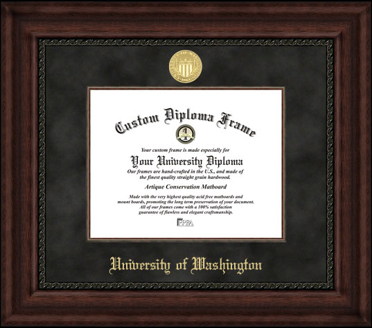 University of Washington  Executive Diploma Frame