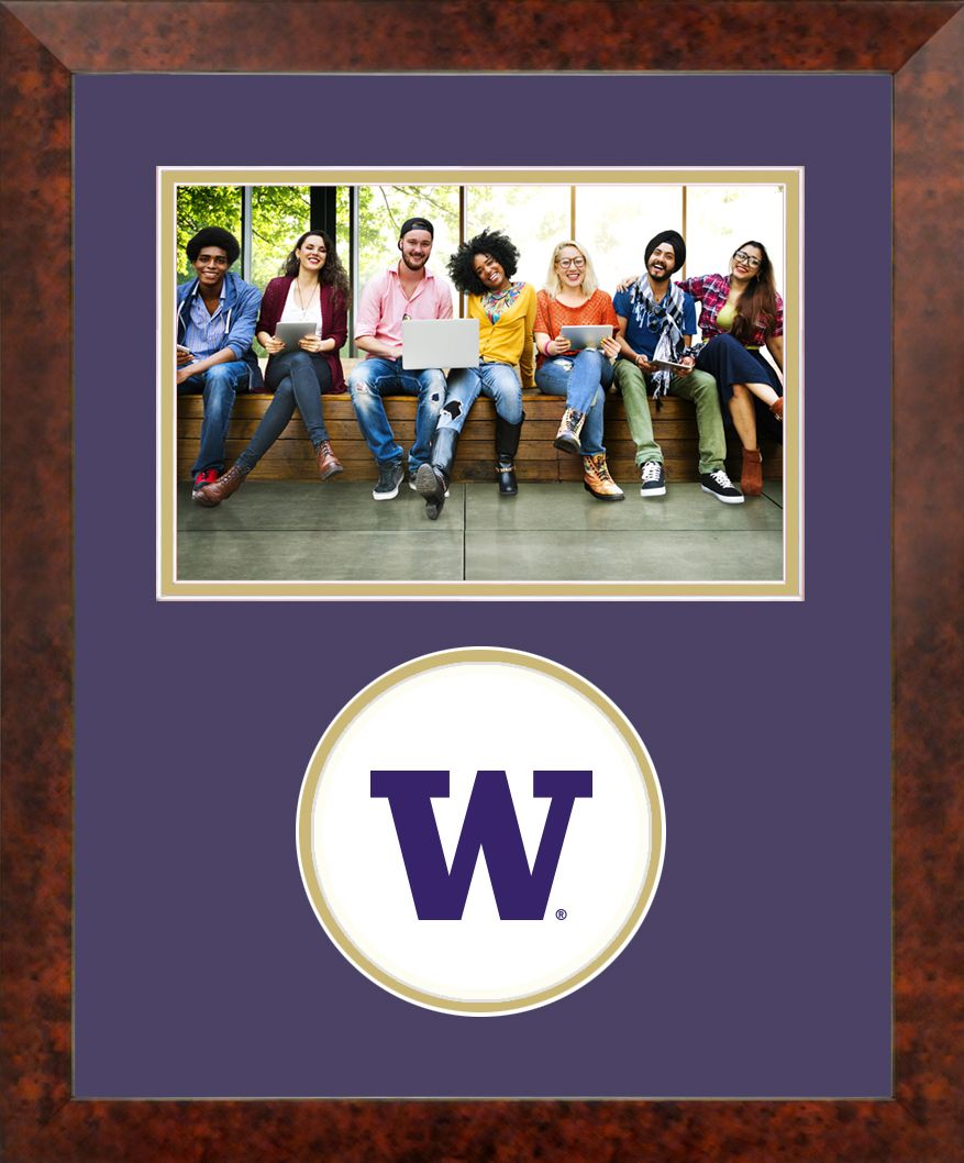 University of Washington Spirit Photo Frame (Horizontal)