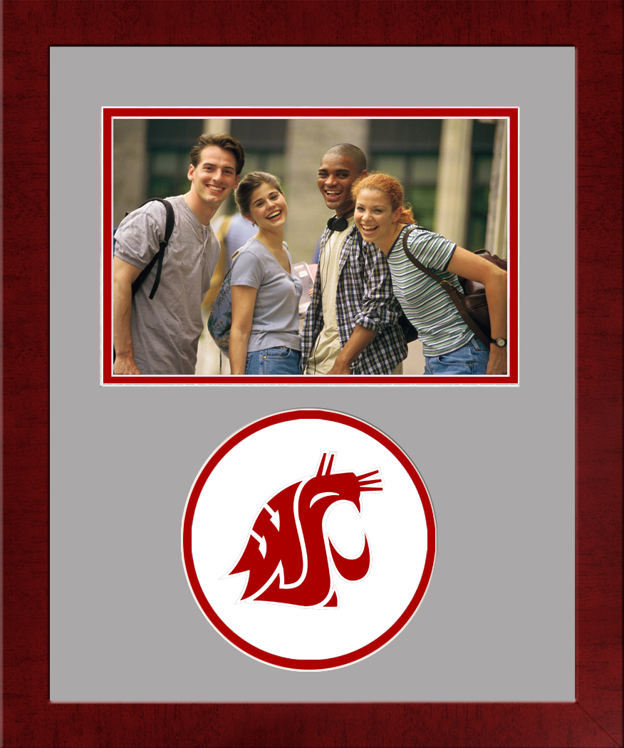 Washington State University Spirit Photo Frame (Horizontal)