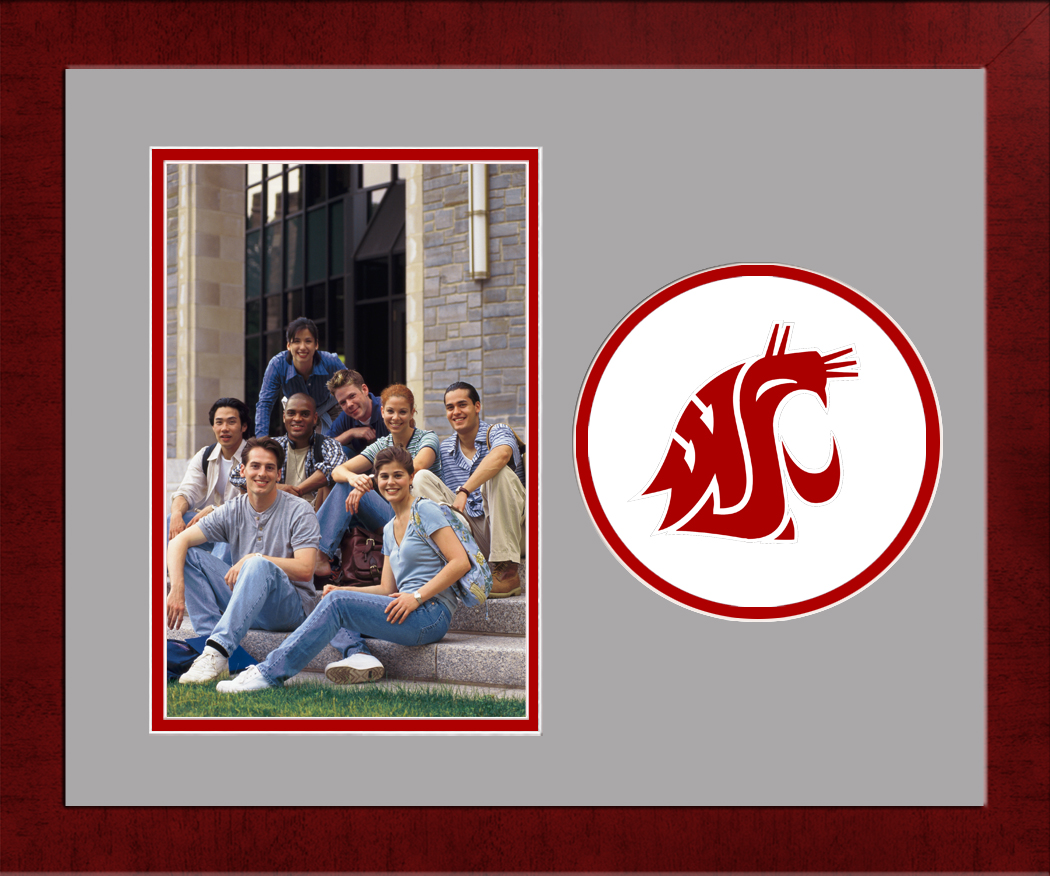 Washington State University Spirit Photo Frame (Vertical)