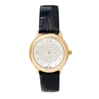Womens Watch Black Lthr Strap - WFAK25