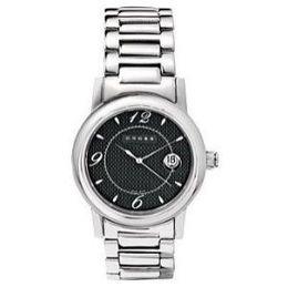 Mens Polished SS Bracelet Watch - WMAJ34