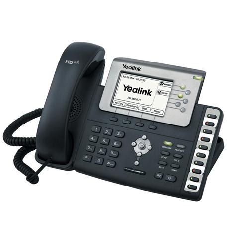 Cortelco Yealink Executive IP Phone w/POE - YEA-SIP-T28P - YEA-SIP-T28P