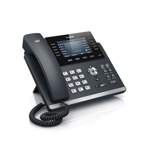 Yealink Ultra-elegant Gigabit IP Phone - YEA-SIP-T46G
